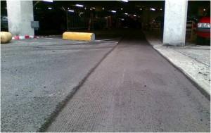 beton frezen